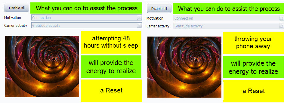 sleep or communication reset